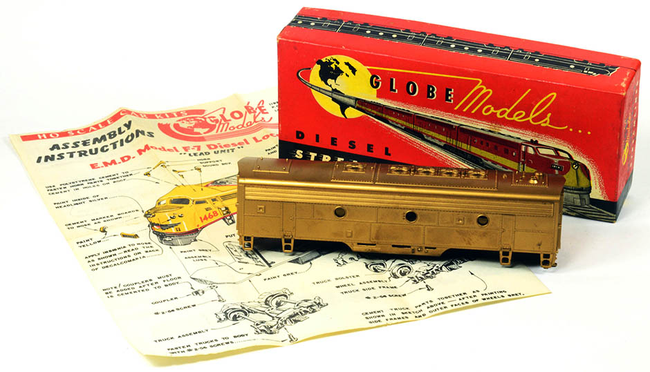 Some Vintage Model Trains
