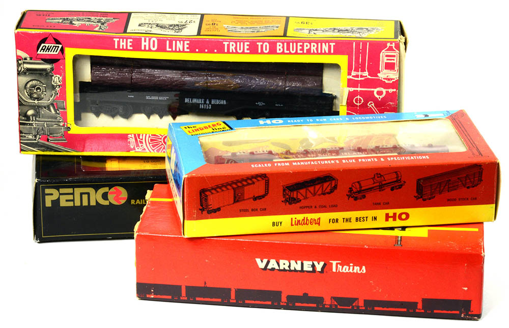 Vintage Model Train Packages - HO Collector