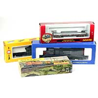 Vintage Model Train Packages