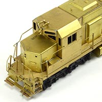 Pacific Fast Mail's Pioneering SD45 in Brass