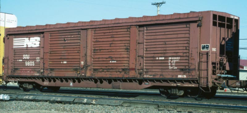Norfolk Southern All-Door Boxcar