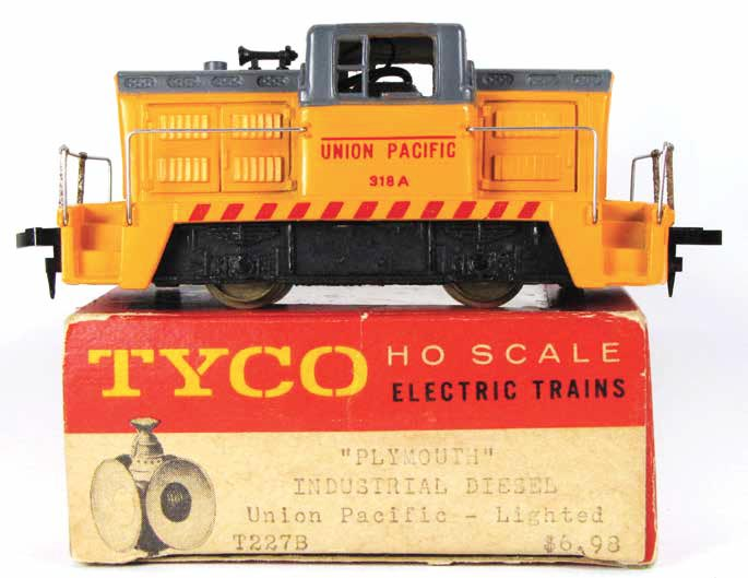 TYCO Plymouth CR-4 Diesel