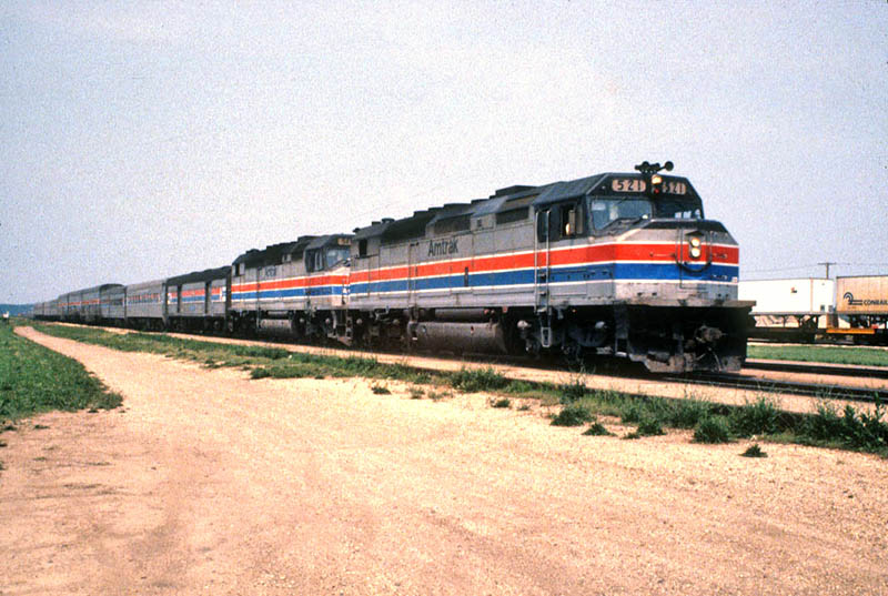 Amtrak SDP40F