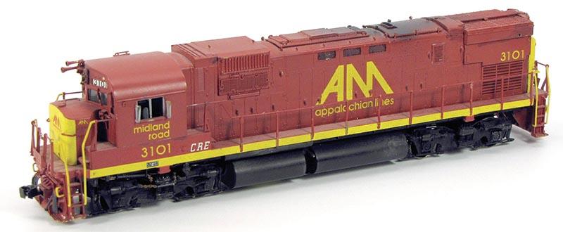 Preserved Freelance: Allegheny Midland 3101