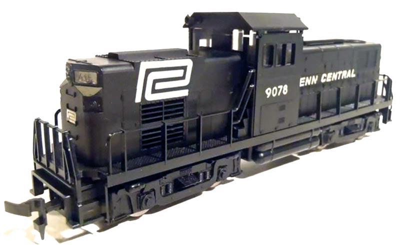 Penn Central American Train & Track