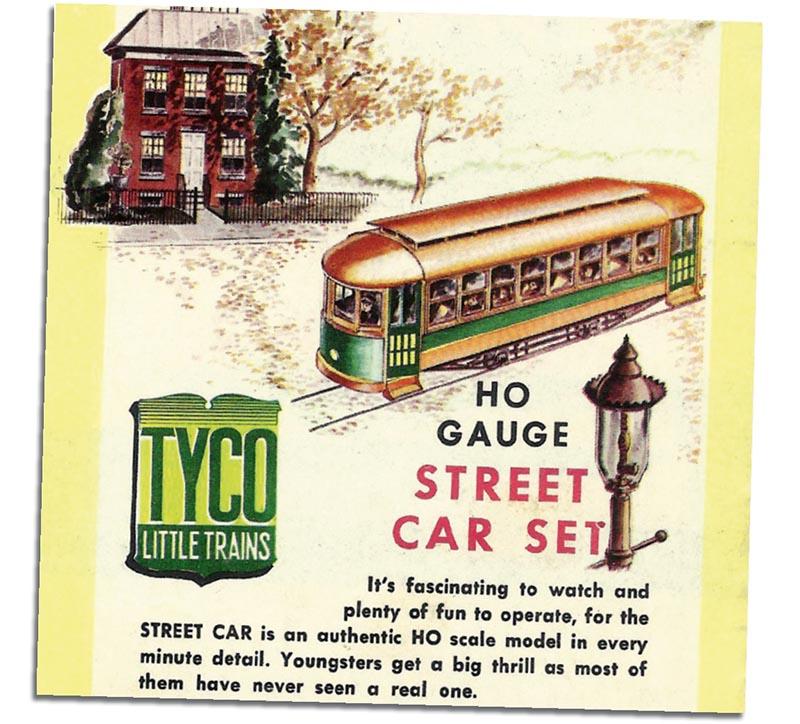 Tyco Streetcar
