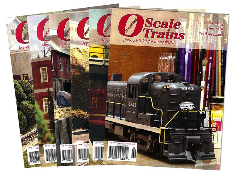 O Scale Trains Magazine joins the WRP Family of Publications