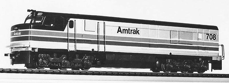 American GK Amtrak P30CH