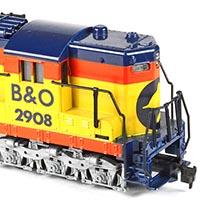 TYCO's Chessie System SD24 Diesel