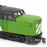 Con-Cor's Burlington Northern Alco PA-1/PB-1 Diesels
