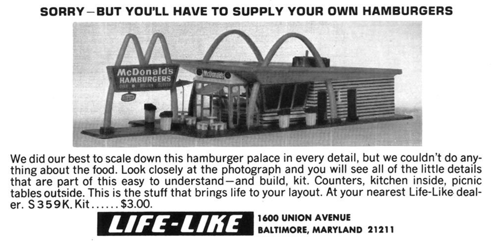 Life-Like McDonald's