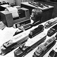 Athearn's 1972 Computerization