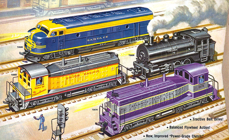 Revell Locomotives in HO Scale