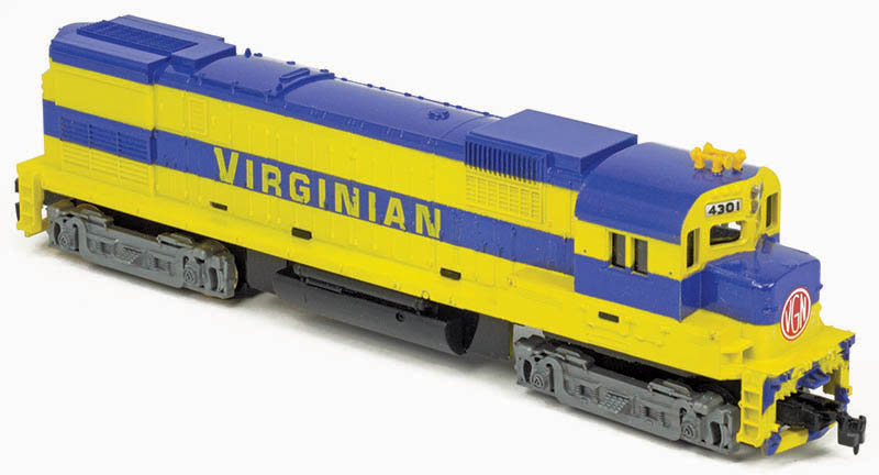 Coming Soon: TYCO Virginian Alco C430s
