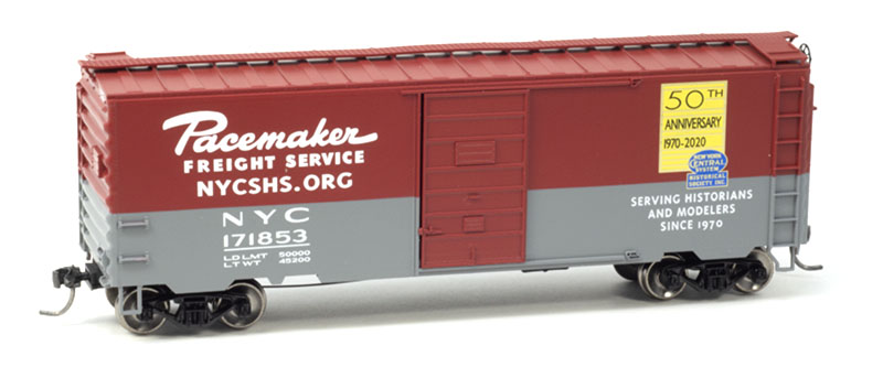 New York Central System Historical Society 50th Anniversary Boxcar