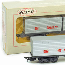 American Train & Track's Container Car