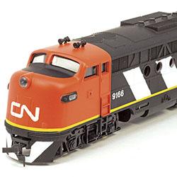 Uncommon FT Diesel Locomotive