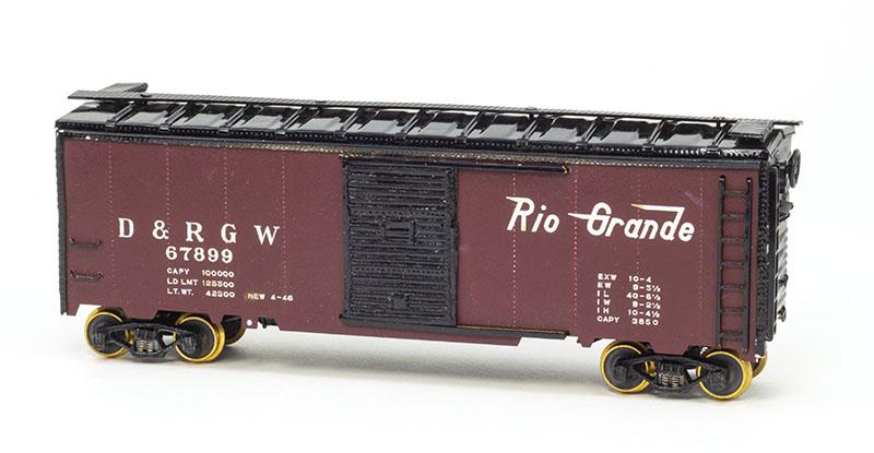 Tetsudo-Moki-Sha Rio Grande Boxcar