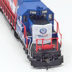 Florida, Gulf & Atlantic SD40-2 collectible from TrainWorld